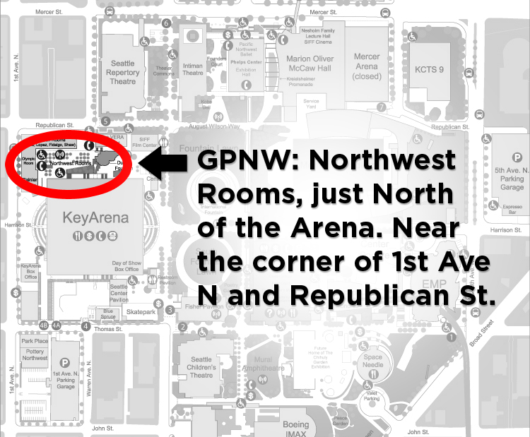 Northwest Rooms at Seattle Center
