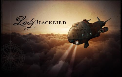Couverture Lady Blackbird